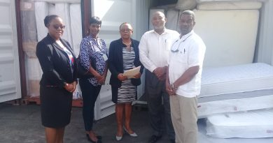 The High Commission donates supplies for Barbuda hurricane relief