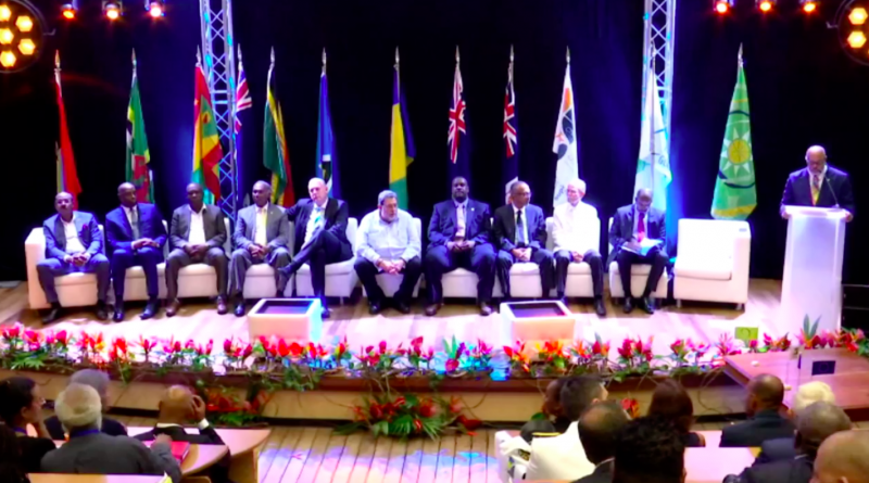 PM Browne Attends Three-day Meeting of OECS Authority in Guadeloupe