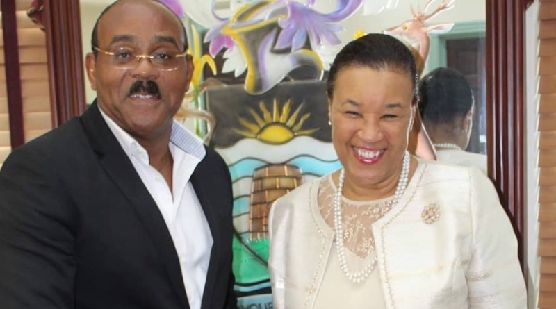 Commonwealth Secretary-General Meets with Prime Minister Gaston Browne
