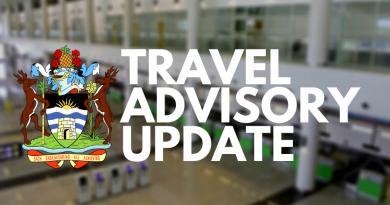 Antigua & Barbuda Travel Advisory as of 10 February 2021